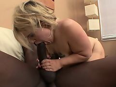 Cute blonde midget with a hot ass Stella sits on top of a black pole